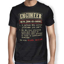 Load image into Gallery viewer, Engineer Definition Unisex T-shirt - Happiness Idea