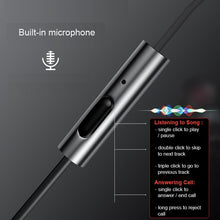 Load image into Gallery viewer, F2 Wired Hi-Fi Earphone with Microphone - Happiness Idea