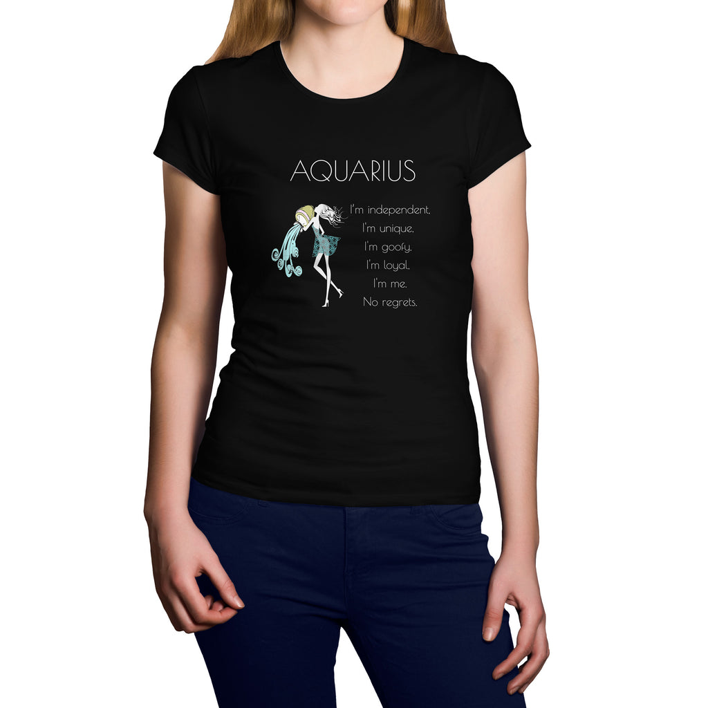 Horoscope Aquarius Short Sleeve Shirt