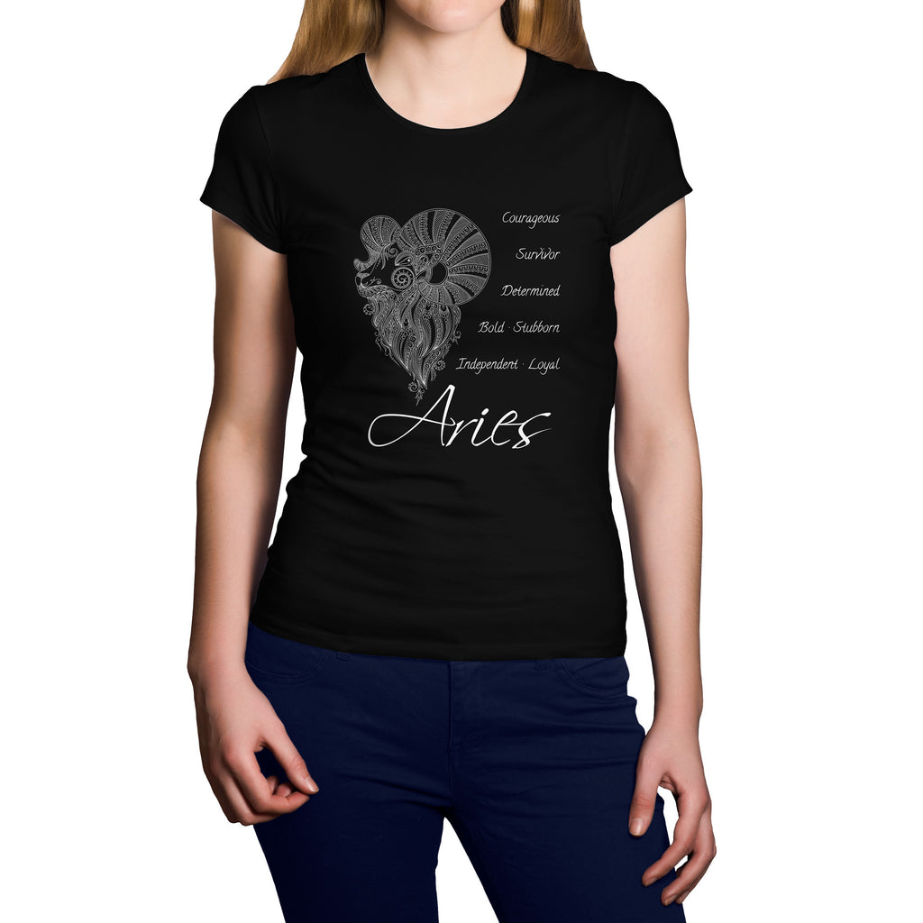 Horoscope Aries Short Sleeve Shirt