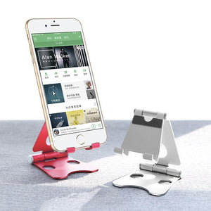 Foldable Metal Mobile Phone Stand - Happiness Idea
