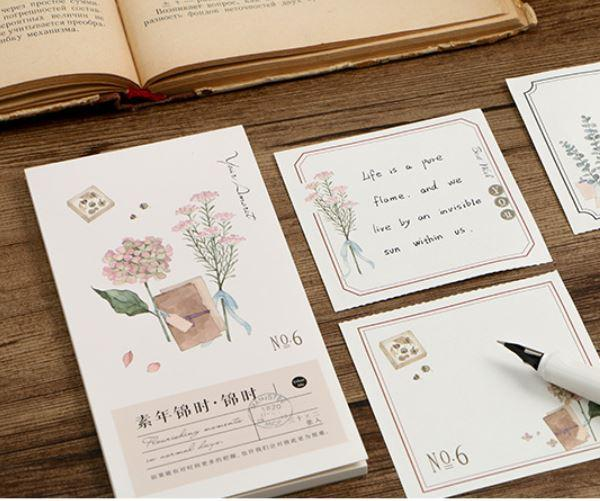 Four Seasons Series Memo Pad - Happiness Idea