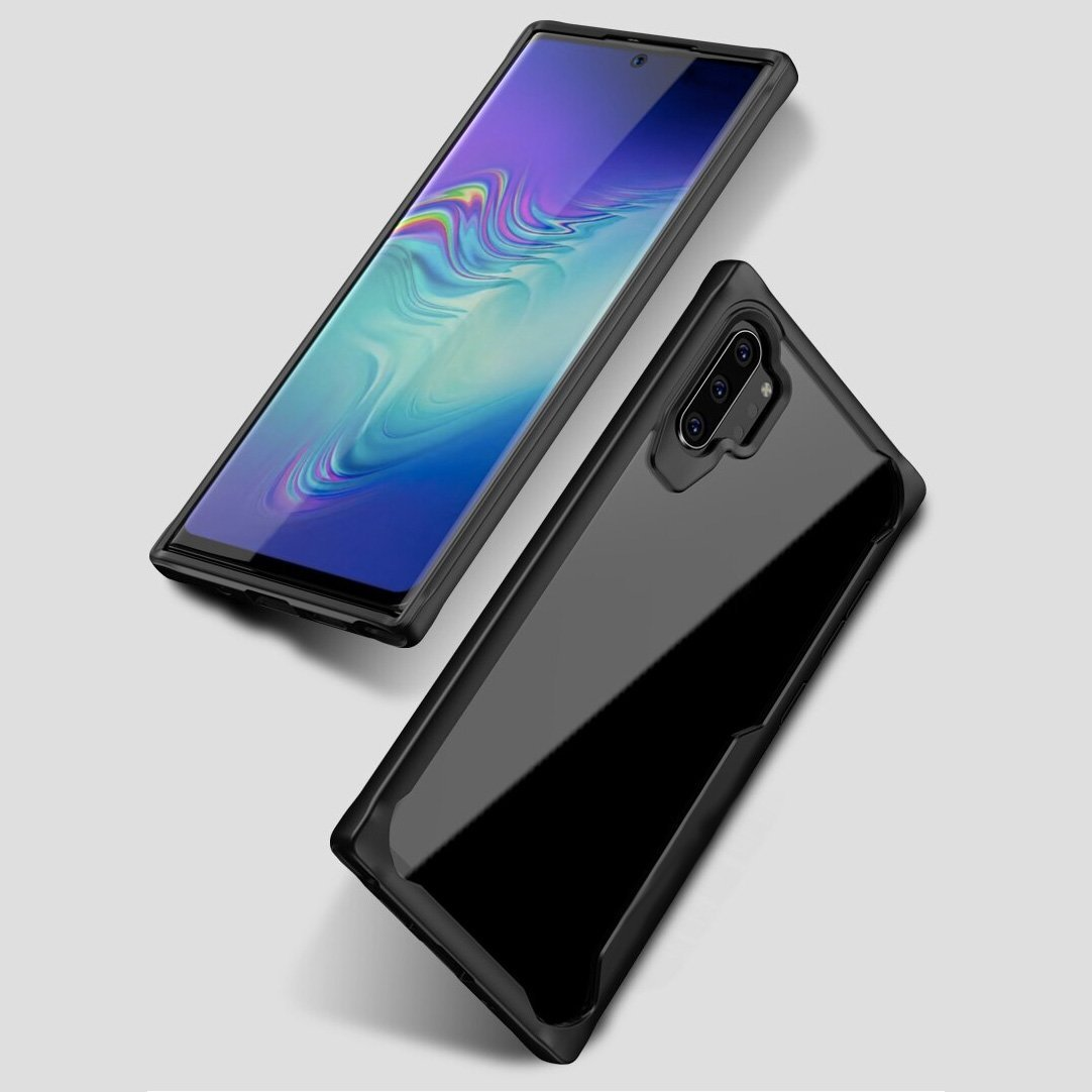 Galaxy Note 10 / Note 10 Plus Transparent Bumper Case - Happiness Idea