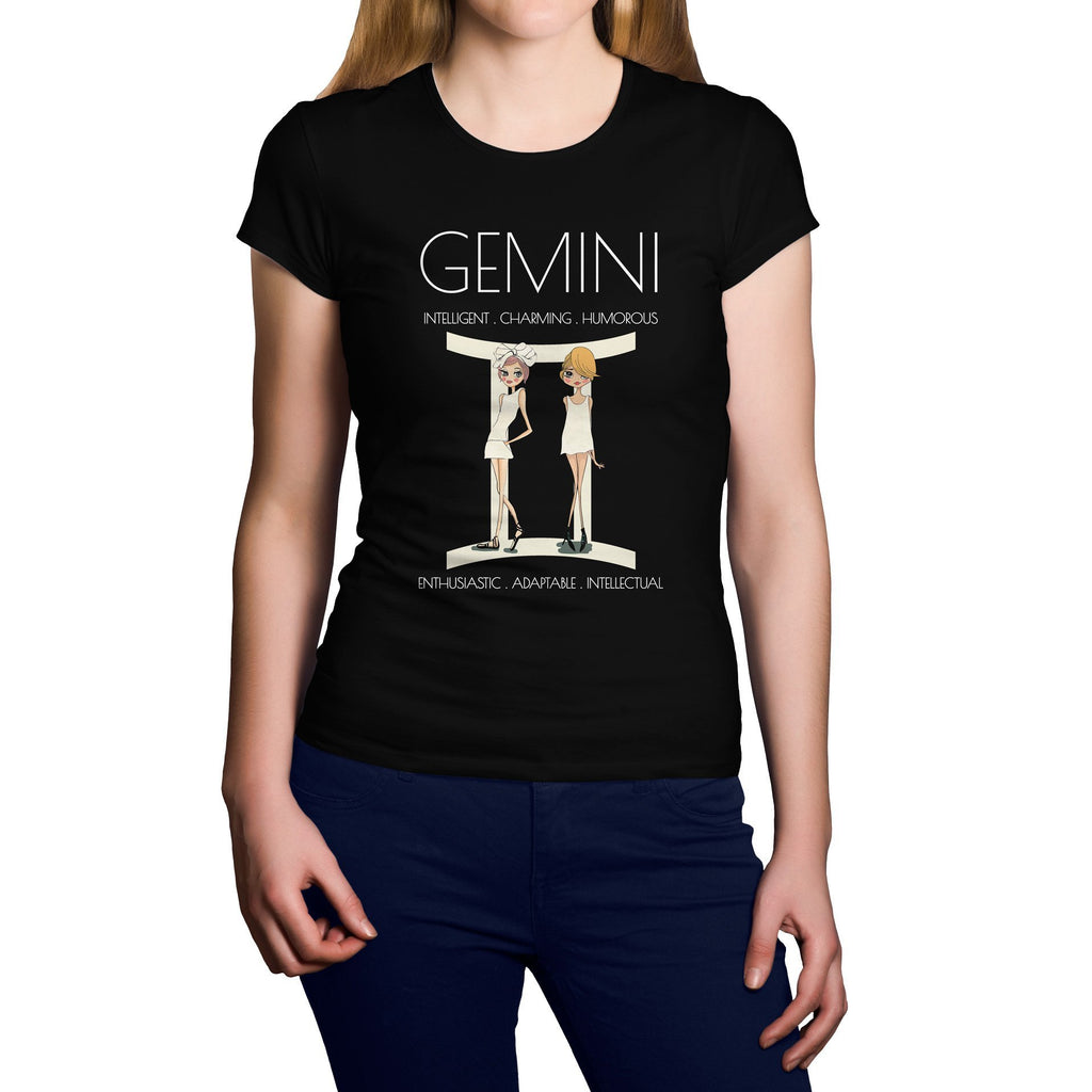 Horoscope Gemini Short Sleeve Shirt - Happiness Idea