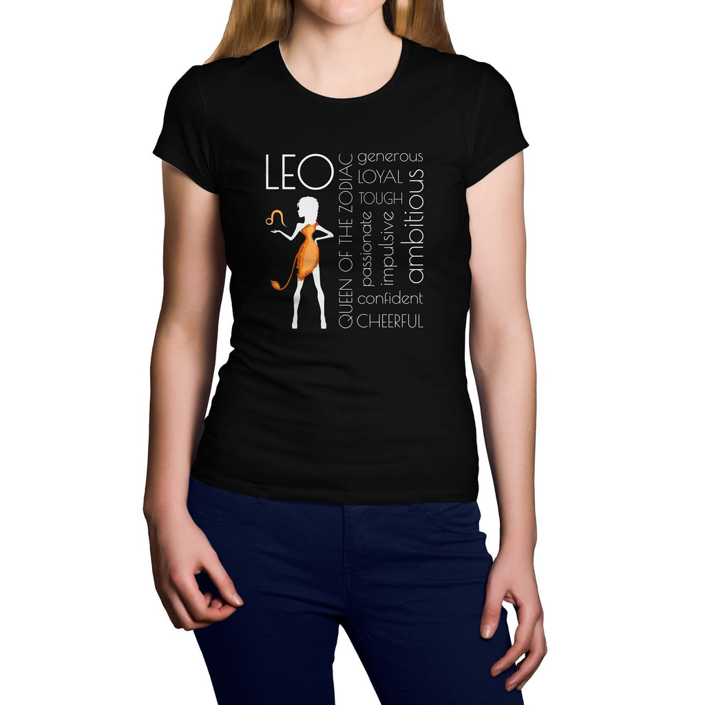 Horoscope Leo Short Sleeve Shirt - Happiness Idea
