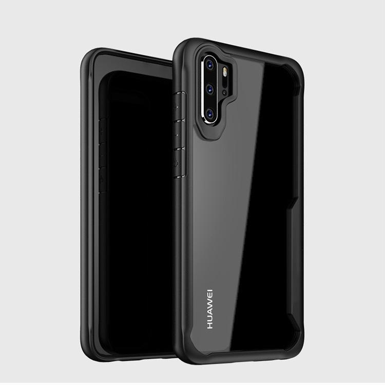 Huawei P30 Pro Transparent Bumper Case - Happiness Idea