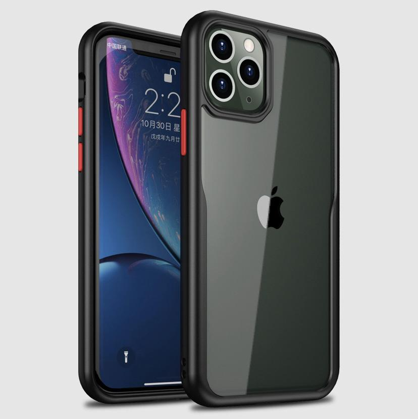 iPhone 11 Series Transparent Bumper Case - Happiness Idea