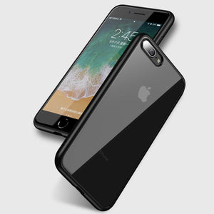 iPhone 7 / 8 Transparent Hybrid Case - Happiness Idea