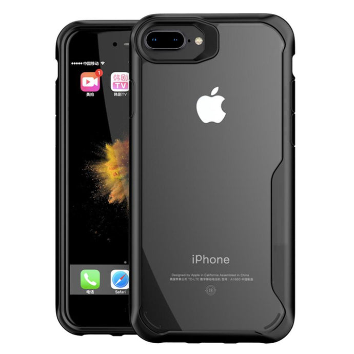 iPhone 7 Plus Transparent Bumper Case - Happiness Idea