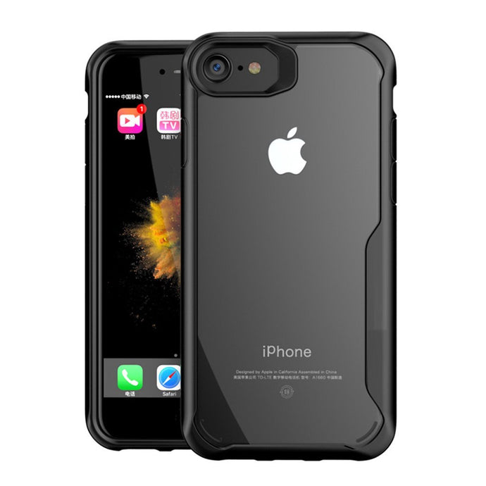 iPhone 7 Transparent Bumper Case - Happiness Idea