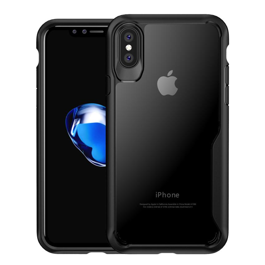 iPhone XS Max Transparent Bumper Case - Happiness Idea