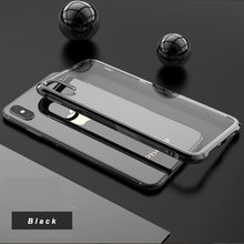 Load image into Gallery viewer, LEEU Design Chrome Plated Soft Clear Case for iPhone XS Max