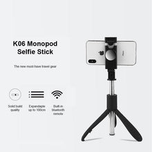 Load image into Gallery viewer, K06 Bluetooth Selfie Stick / Tripod - Happiness Idea