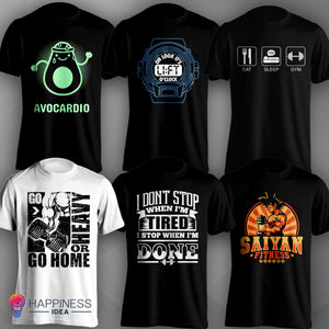 Workout Design T-shirts Collection 3