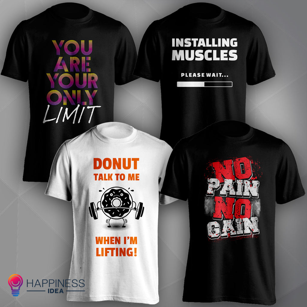 Workout Design T-shirts Collection 1