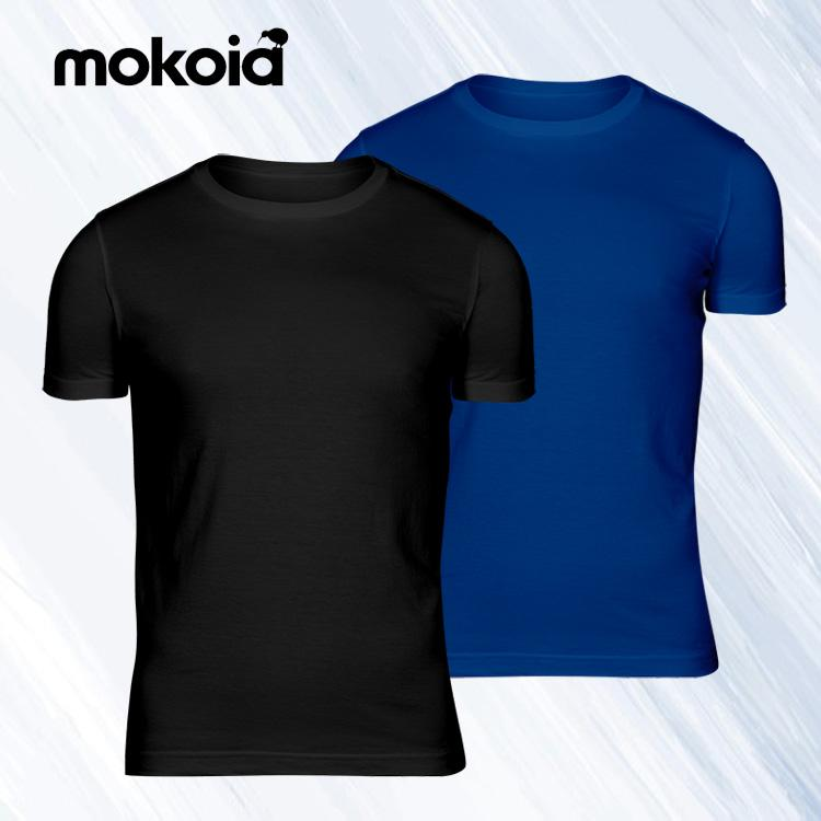 Mokoia Athletic Dry Trio Men's T-shirt (Semi Fitted) - Happiness Idea