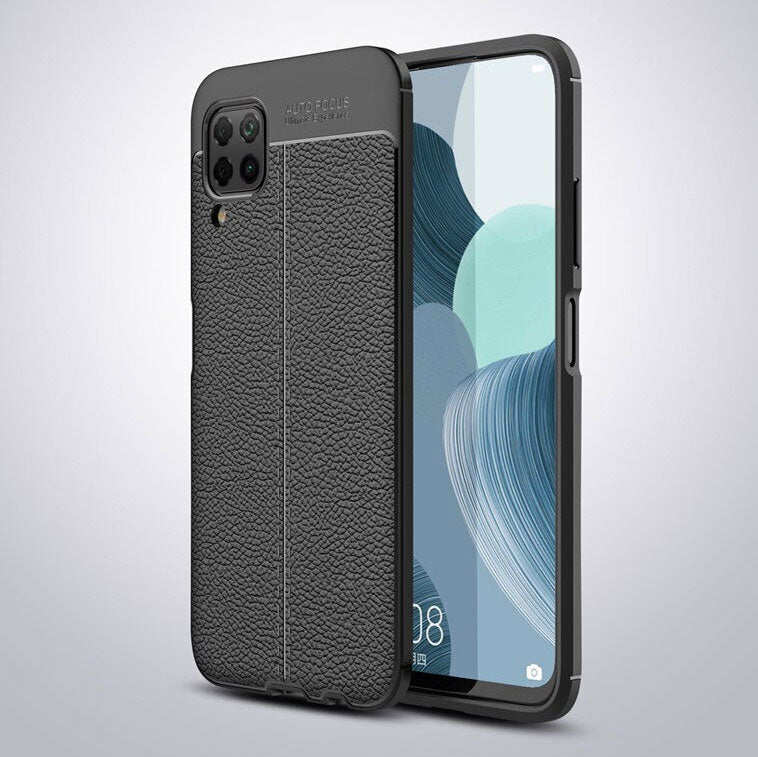 Huawei Nova 7i Leather Design TPU Case