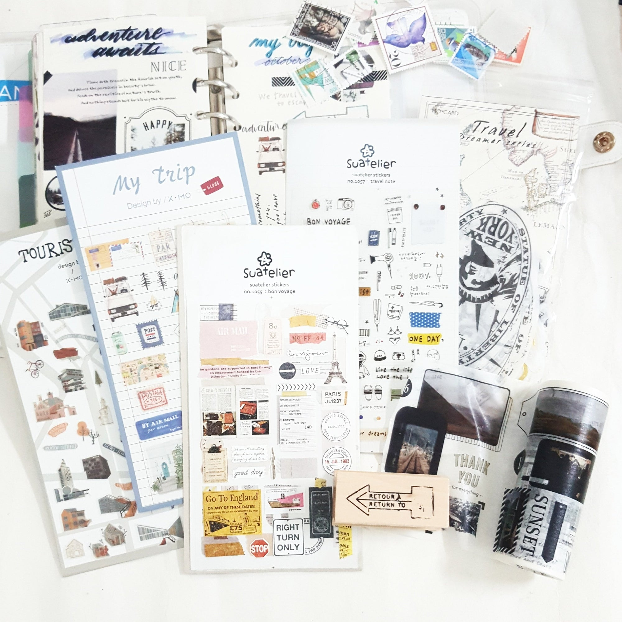 October Theme Bundle - Travel - Happiness Idea
