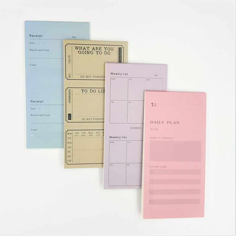 Planner Notepad - Happiness Idea