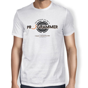 Proud Programmer Unisex T-shirt - Happiness Idea