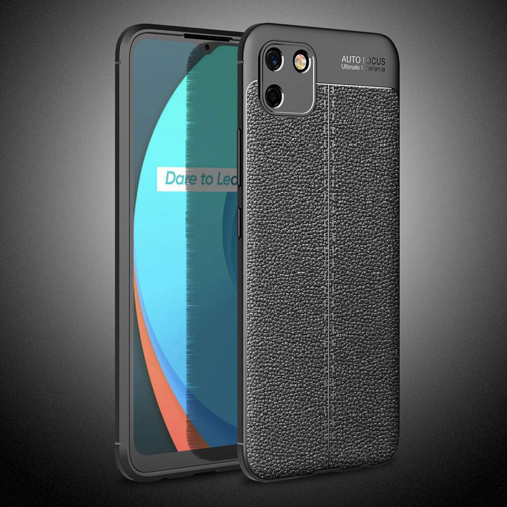 Realme C11 Leather Design TPU Case