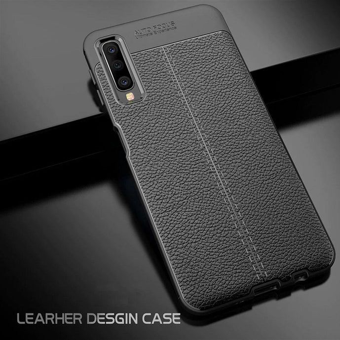 Samsung Galaxy A50 / A50s / A30s Leather Design TPU Case - Happiness Idea