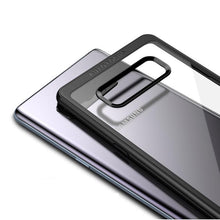 Load image into Gallery viewer, Samsung Galaxy Note 8 Transparent Hybrid Case - Happiness Idea