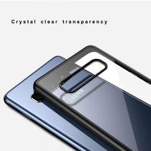 Load image into Gallery viewer, Samsung Galaxy S10 Plus Transparent Hybrid Case - Happiness Idea