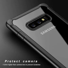 Load image into Gallery viewer, Samsung Galaxy S10e Transparent Bumper Case - Happiness Idea