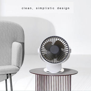 Silent Breeze Portable Clip Fan - Happiness Idea