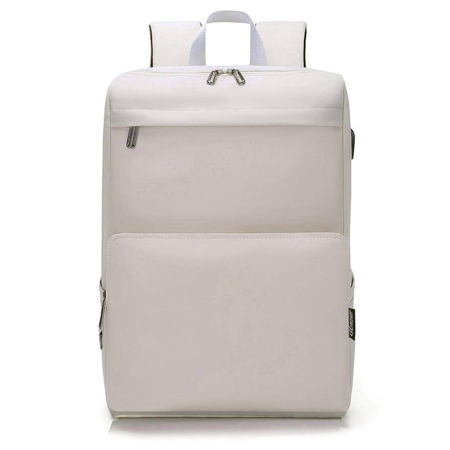 Slim Casual Laptop Backpack - Happiness Idea