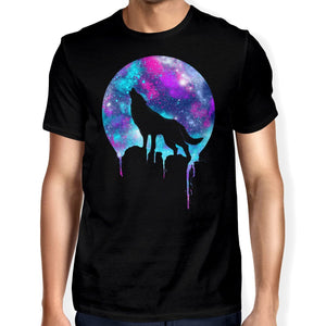 Space Howl Unisex T-shirt - Happiness Idea