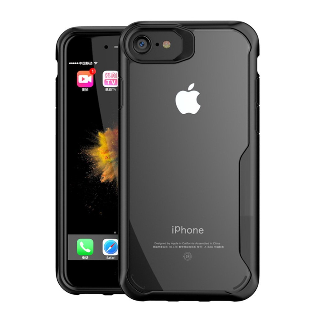 Transparent Bumper Case for iPhone 8 / 8+ - Happiness Idea