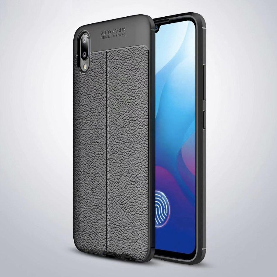Vivo V11 / V11 Pro Leather Design TPU Case - Happiness Idea