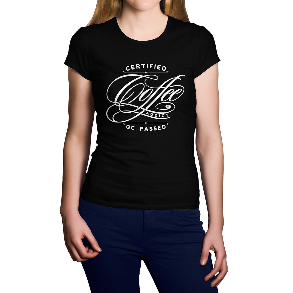 Coffee Addict Short Sleeve Shirt