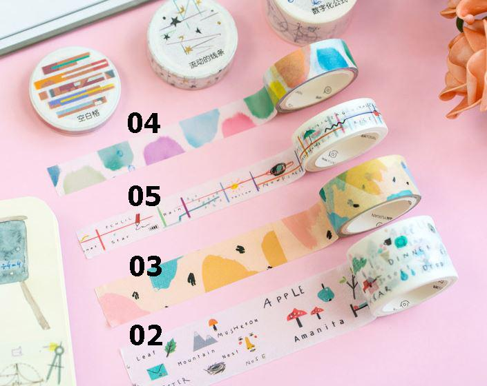 YuXian Washi Tape - Happiness Idea