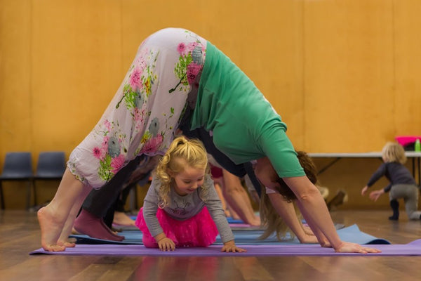 Spring Inspired Parent-Child Yoga and Mindfulness Class