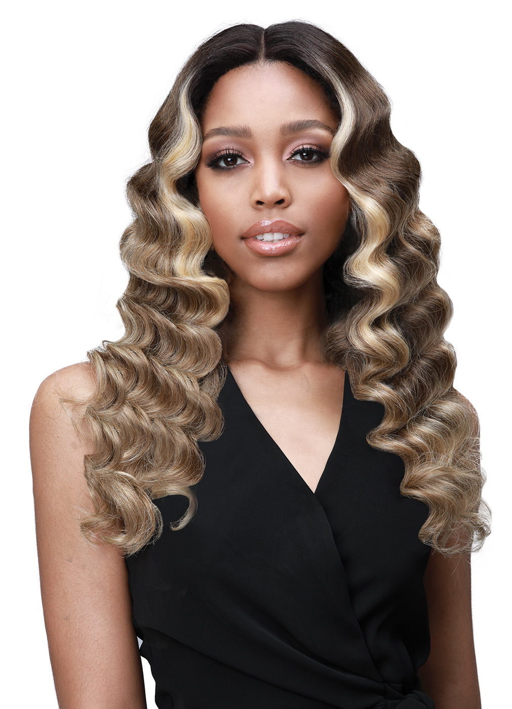 Bobbi Boss Premium Synthetic Lace Front Wig MLF385 JOURNEY