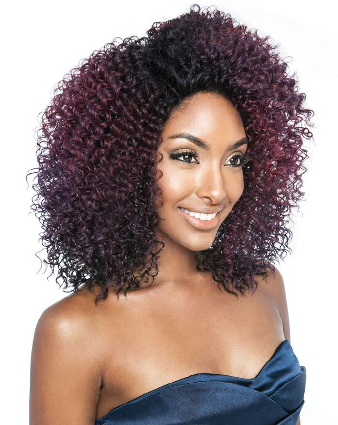 Brown Sugar Human Hair Mix Wig BSS103 - ROYALE (discount applied)