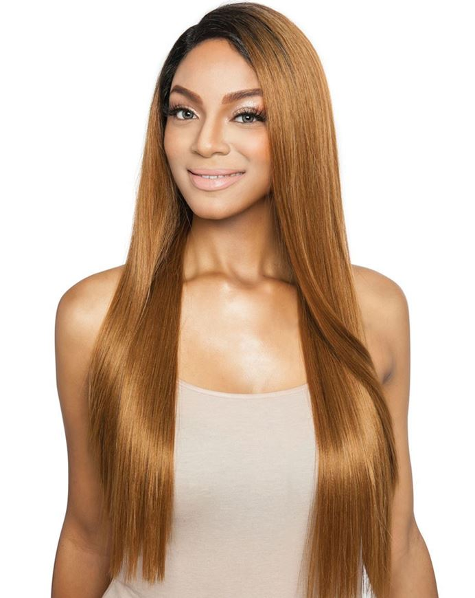 Brown Sugar HH Blend Side 2 Side Lace Front Wig BSD2604 NYC ARI