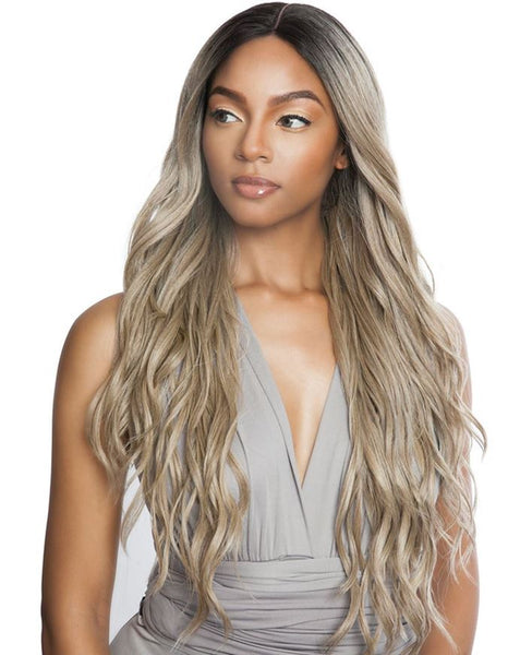 Brown Sugar Versatile Whole Lace Wig BSX06 NATURAL WAVE 30 inch (discount applied)