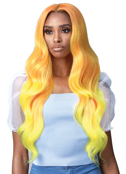 Bobbi Boss Premium Synthetic Secret Lace 13x7 Extended Lace Frontal Wig MLF393 STARLA