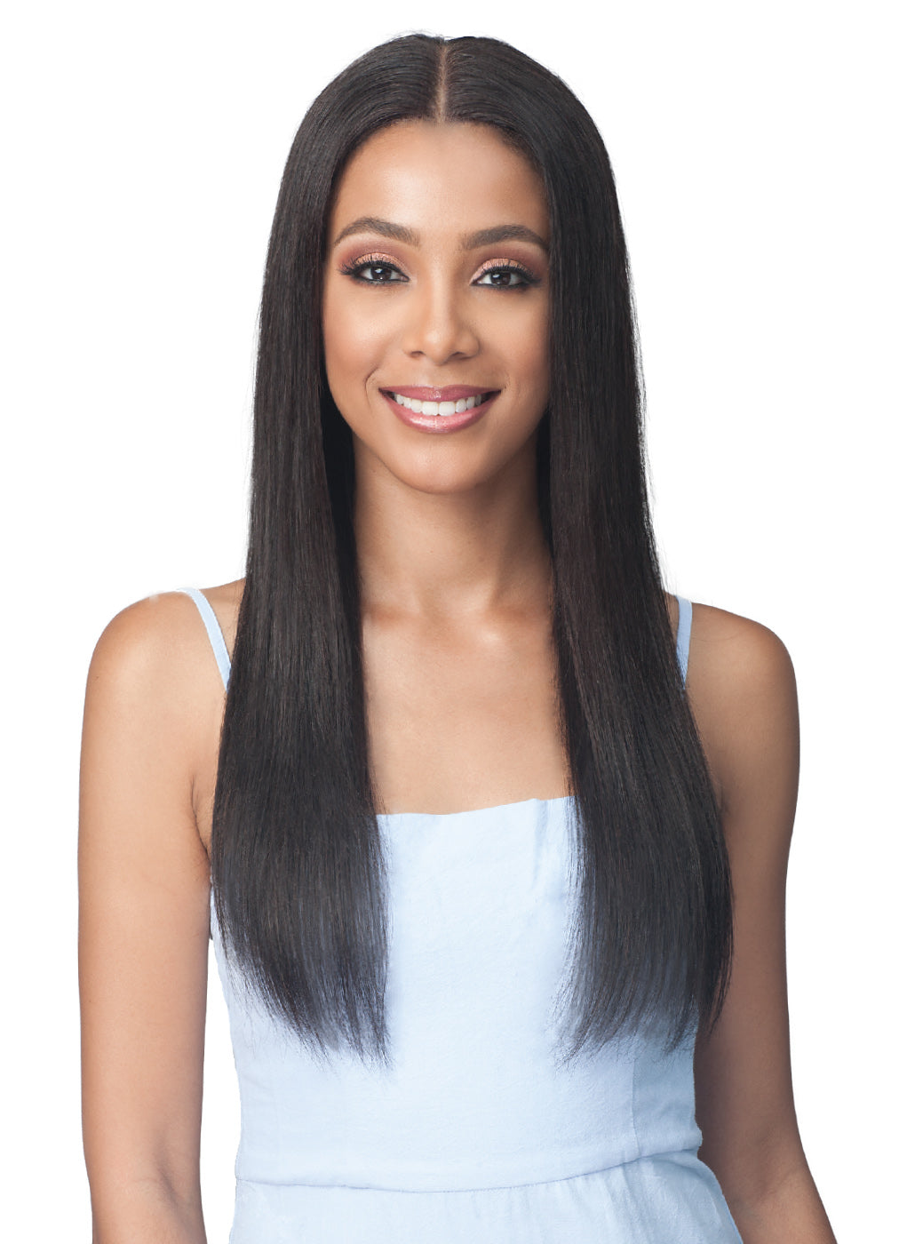 Bobbi Boss Virgin Remy Human Hair 13x4 Lace Front Wig MHLF508 NATURAL STRAIGHT 24