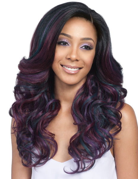 "Bobbi Boss 13""x4"" Hand-Tied Swiss Lace Front Wig MLF221 TATIANA (discount applied)"