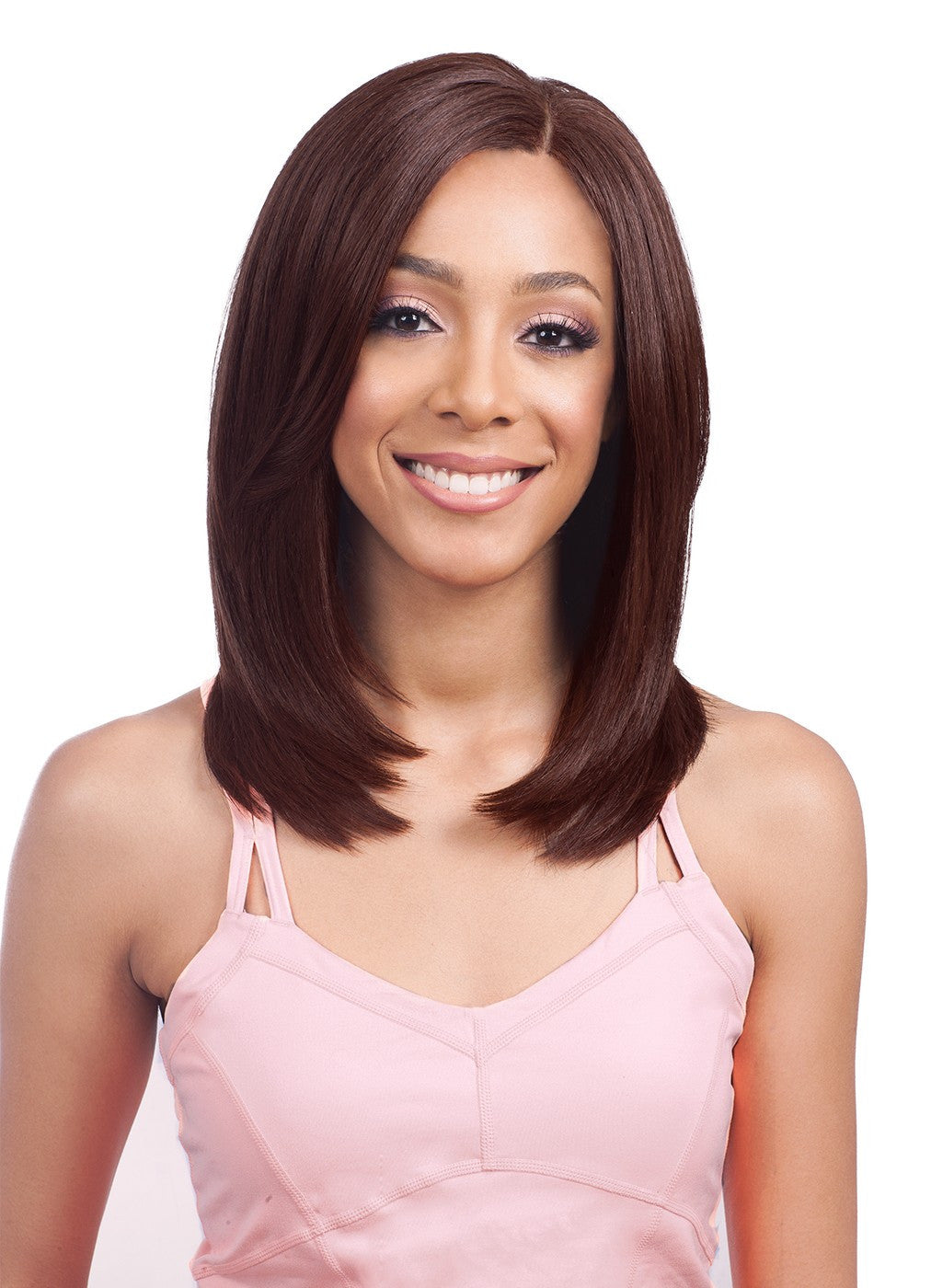 "Bobbi Boss Premium Synthetic Swiss Lace Front Wig 4"" x 4"" MLF270 FENDI"