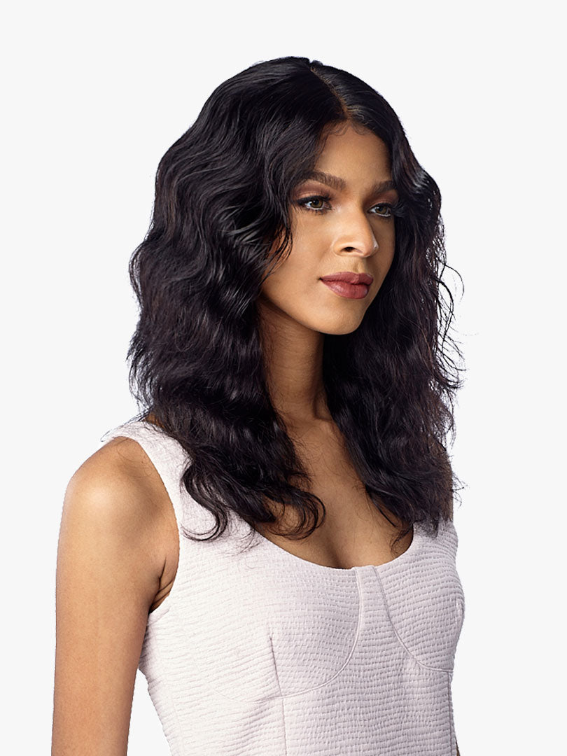 Sensationnel 100% Virgin Unprocessed Human Hair Lace Front Wig BODY WAVE