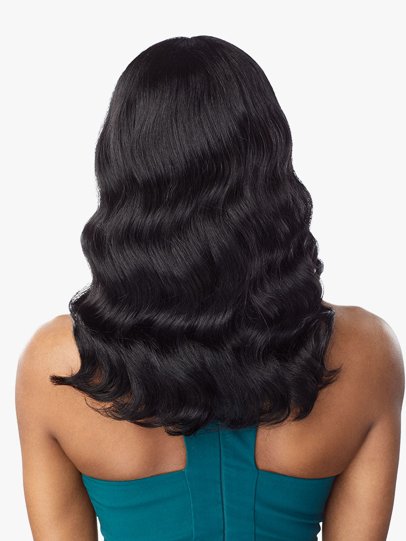 Sensationnel Unprocessed Virgin Human Hair 10A FULL Wig BODY WAVE 16""