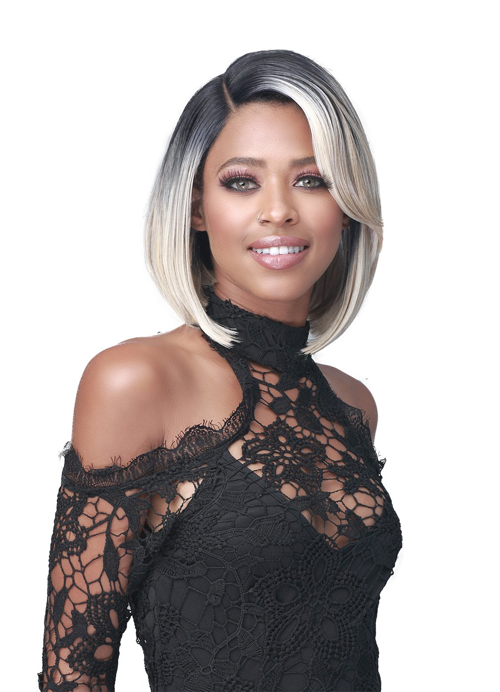 Bobbi Boss Premium Synthetic Lace Wig MLF468 KARLINE