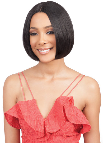 Bobbi Boss Human Hair Lace Front Wig MHLF802 EMA SHORT