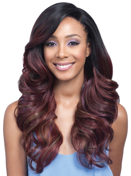 "Bobbi Boss 13""x4"" Hand-Tied Swiss Lace Front Wig MLF222 SYLVANNA"